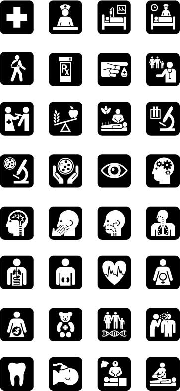 UHC Symbols: Clinical & Medical Services